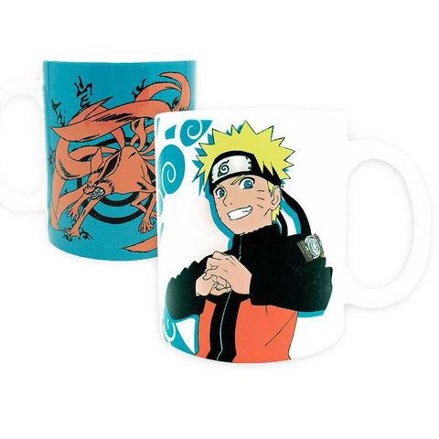 Mug Naruto Shippuden - 320 Ml - Naruto et Kyubi