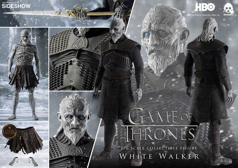 Figurine HBO - Game of Thrones - Deluxe version White Walker 1/6