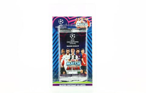 Cartes Match Attax - UEFA Champions League - Blister de 6 sachets (30 stickers) 2018-2019