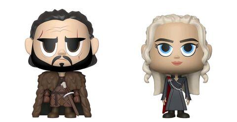 Figurine Vynl - Game of Thrones - Jon et Daenerys