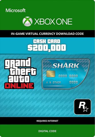 DLC - Grand Theft Auto V Tiger Shark - 200 000 GTA Dollars Xbox One