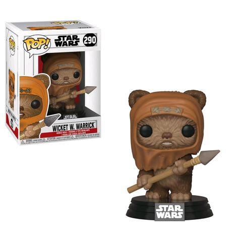 Figurine Funko Pop! N°290 - Star Wars - Wicket