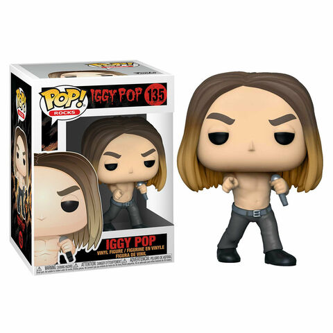 Figurine Funko Pop! N°135 - Rocks : Iggy Pop - Iggy