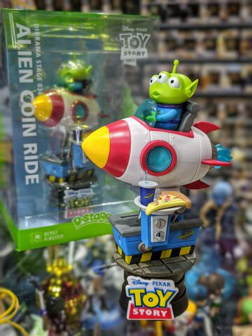 Figurine D-stage - Toy Story - Alien Coin Ride - 15 cm