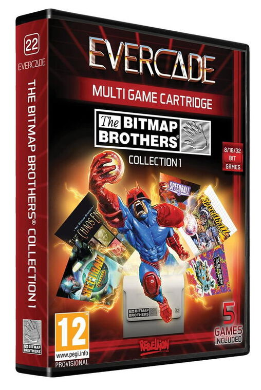 Evercade The Bitmap Collection 1 Cartridge 22