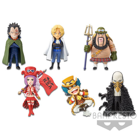 Figurine Movie World Collectable - One Piece Stampede - Assortiment 6 Pièces