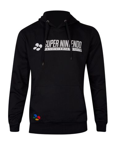 Sweat A Capuche - Nintendo - Snes - Taille Xl