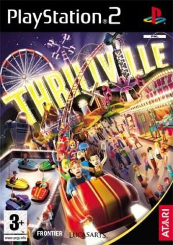 Thrillville, Le Parc En Folie