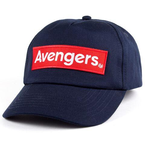 Casquette - Avengers - Engame Rouge Logo - Taille Unique - Bleu Marine