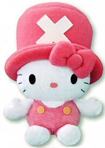 Peluche Hello Kitty Licence One Piece