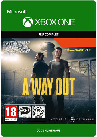 A Way Out - Jeu complet - Version digitale
