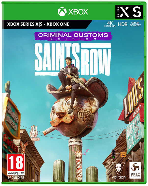 Saints Row Criminal Customs Edition (exclusivité Micromania)