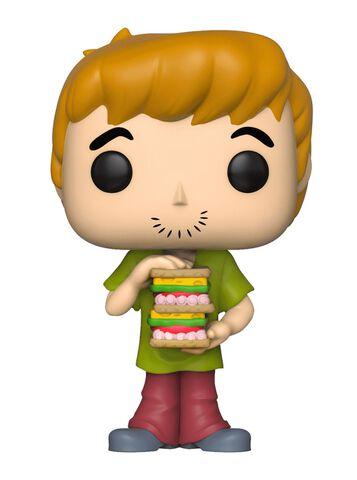 Figurine Funko Pop! N°626 - Scooby Doo - Shaggy Avec Sandwich