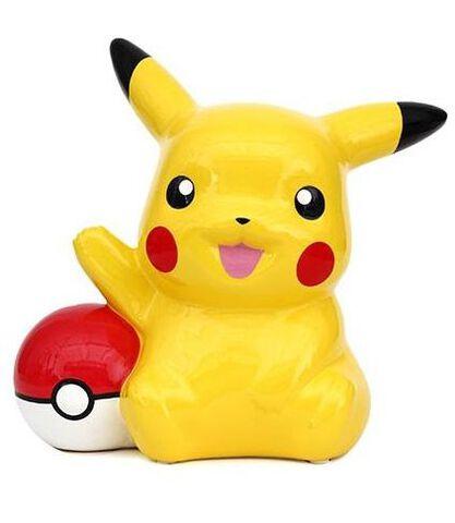 Tirelire - Pokémon - Pikachu avec Pokéball XL
