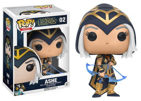 Figurine Funko Pop! N°02 - League of Legends - Ashe
