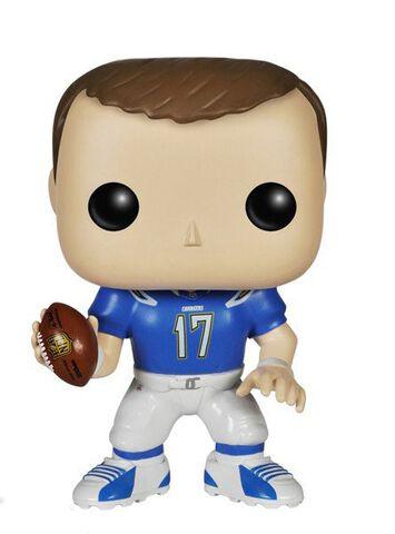 Figurine Funko Pop! N°12 - NFL 4 - Philip Rivers Color Rush (exclusivité Microma