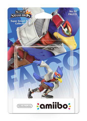 Figurine Amiibo N°52 Smash Falco