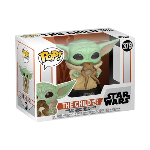 Figurine Funko Pop! N°379 - Star Wars -  Mandalorian The Child W/frog