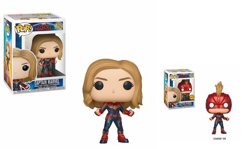 Figurine Funko Pop! N°425 - Captain Marvel - Captain Marvel (c)