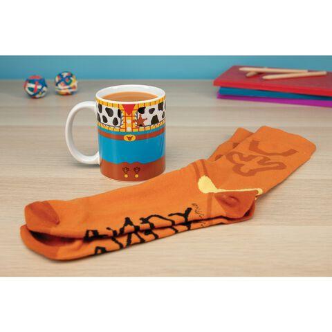 Coffret - Toy Story - Mug Woody et chaussettes