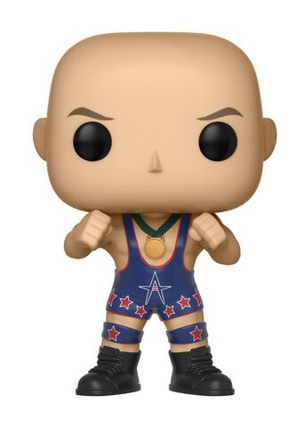Figurine Funko Pop! N°55 - WWE - S8 Kurt Angle (Ring Gear)