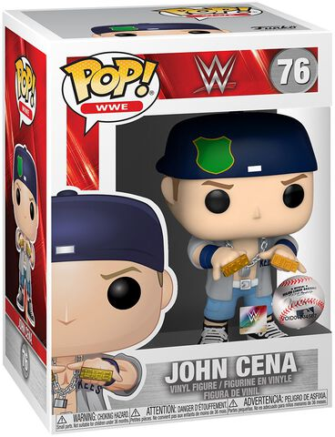 Figurine Funko Pop! N°76 - Wwe - John Cena Doctor Of Thuganomics