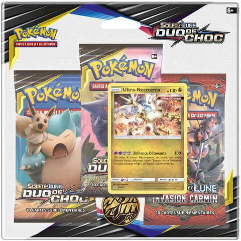 Booster - Pokemon - Pack 3 Boosters Sl09