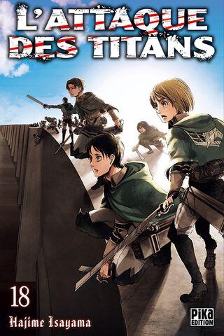 Manga - L'Attaque des Titans - Tome 18