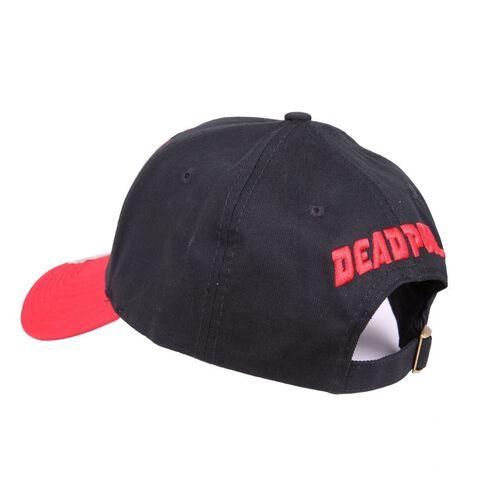 Casquette - Marvel - Deadpool logo noir - Taille unique