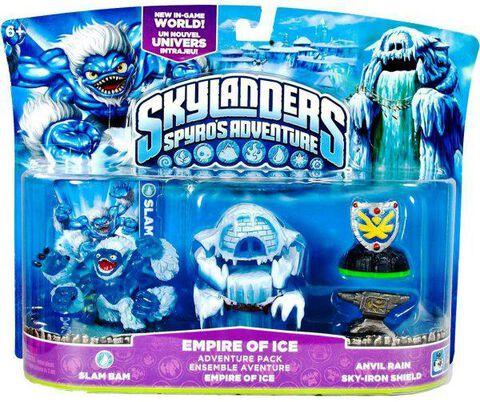 Skylanders : Pack Empire De Glace
