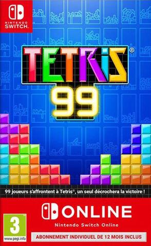 Tetris 99 + 1 An Nintendo Switch Online
