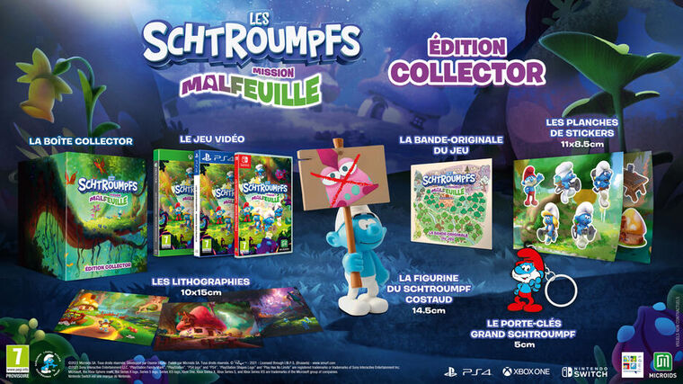 Les Schtroumpfs Mission Malfeuille Collector Edition