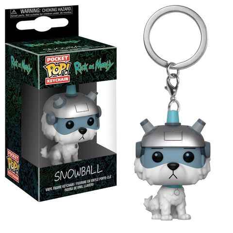 Porte-clés - Rick et Morty - Pop Snowball