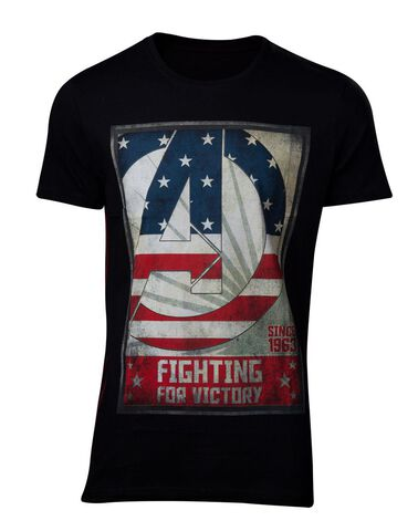 T-shirt - Avengers - For Victory Men's - Taille S