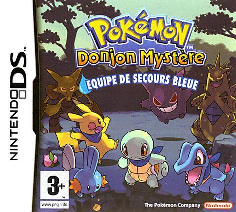 Pokemon Donjon Mystere, Equipe De Secours Bleue