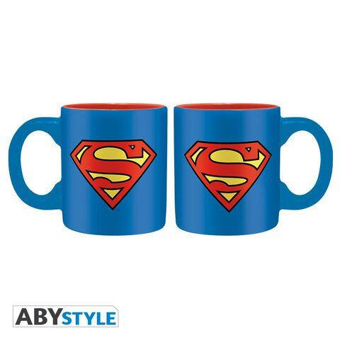 Coffret - DC Comics - Verre 29 cl + Dessous de verre + Mini Mug Superman