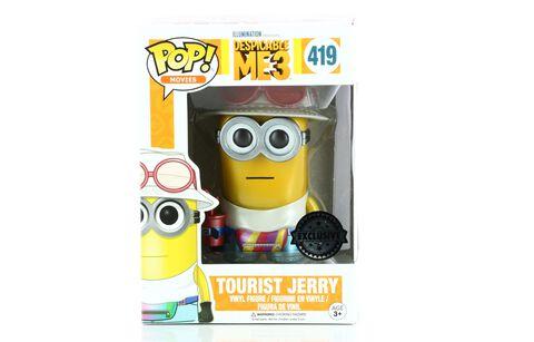 Figurine Toy Pop N°419 - Moi Moche et Méchant - Tourist Jerry Metallic