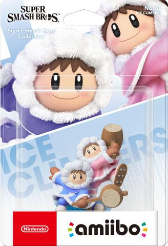 Figurine Amiibo N°68 Smash Ice Climbers