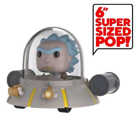 Figurine Funko Pop! N°34 - Rick & Morty - Space Cruiser
