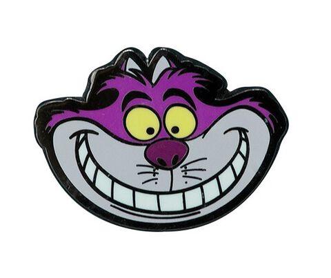 Badge - Alice au Pays des Merveilles - Pin's Chat du Cheshire
