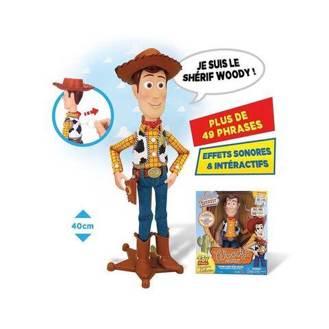 Figurine Signature - Toy Story - Shérif Woody parlant français