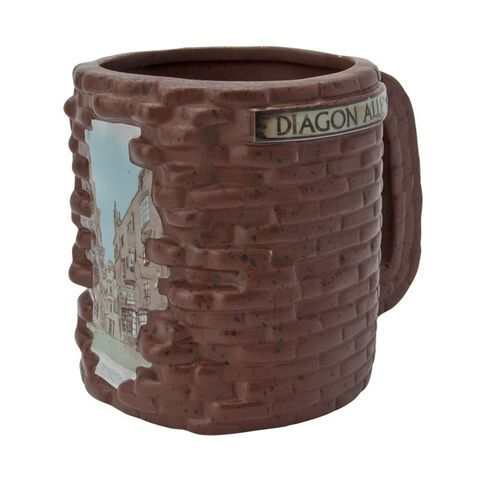 Mug - Harry Potter - Chemin de Traverse 3D