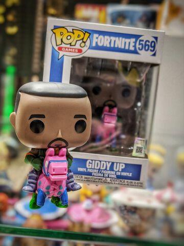 Figurine Funko Pop! N°569 - Fortnite - S4 Giddy Up