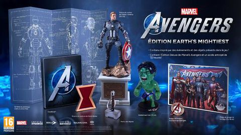 Marvel's Avengers Earth Mightiest Edition Collector - Versions PS5 et