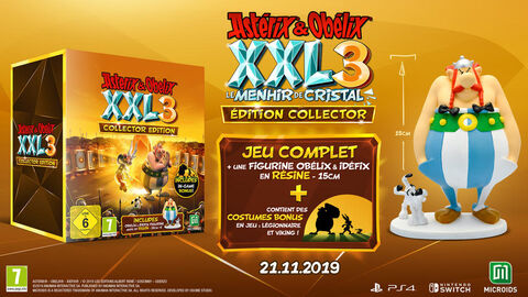 Asterix Xxl 3 Le Menhir De Cristal Edition Collector