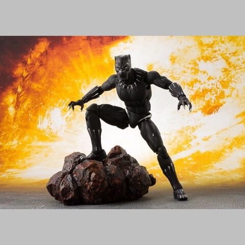 Figurine S.h Figuarts - Avengers Infinity War - Black Panther