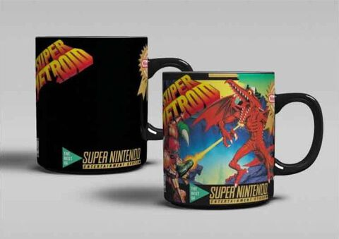 Mug - Nintendo - Heat Change Super Metroid