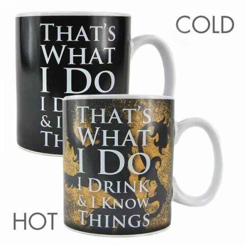 Mug - Game Of Thrones - Heat Change Tyron Lannister