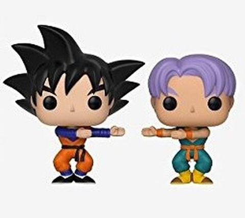 Figurine Toy Pop 2 - Dragon Ball Z - Goten et Trunks Twin Pack