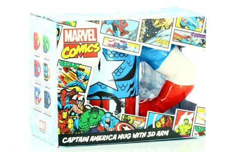 Mug Mata - Marvel - Captain America